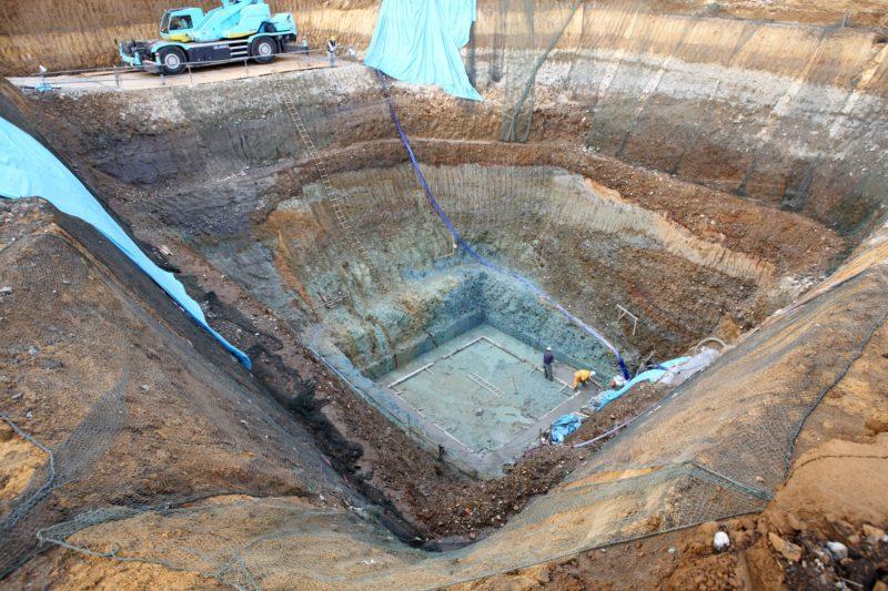 大谷石の採掘と加工