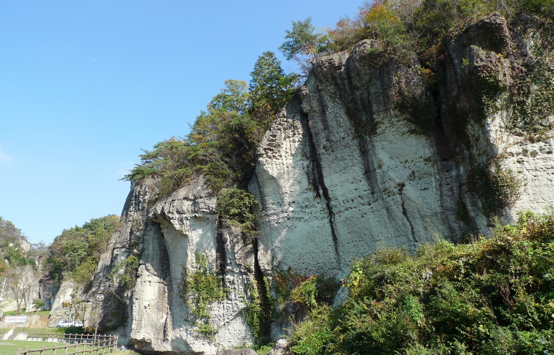 大谷の奇岩群「御止山」