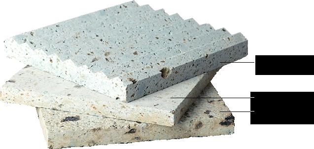 大谷石の種類と仕上げ