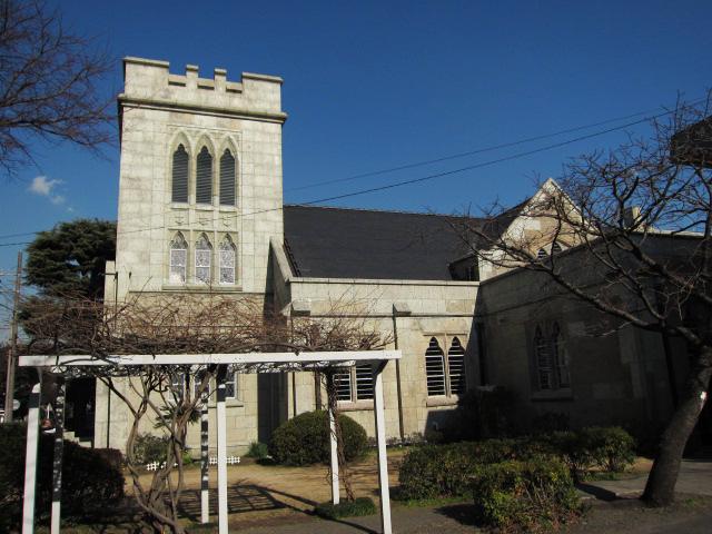 横浜市山手聖公会教会