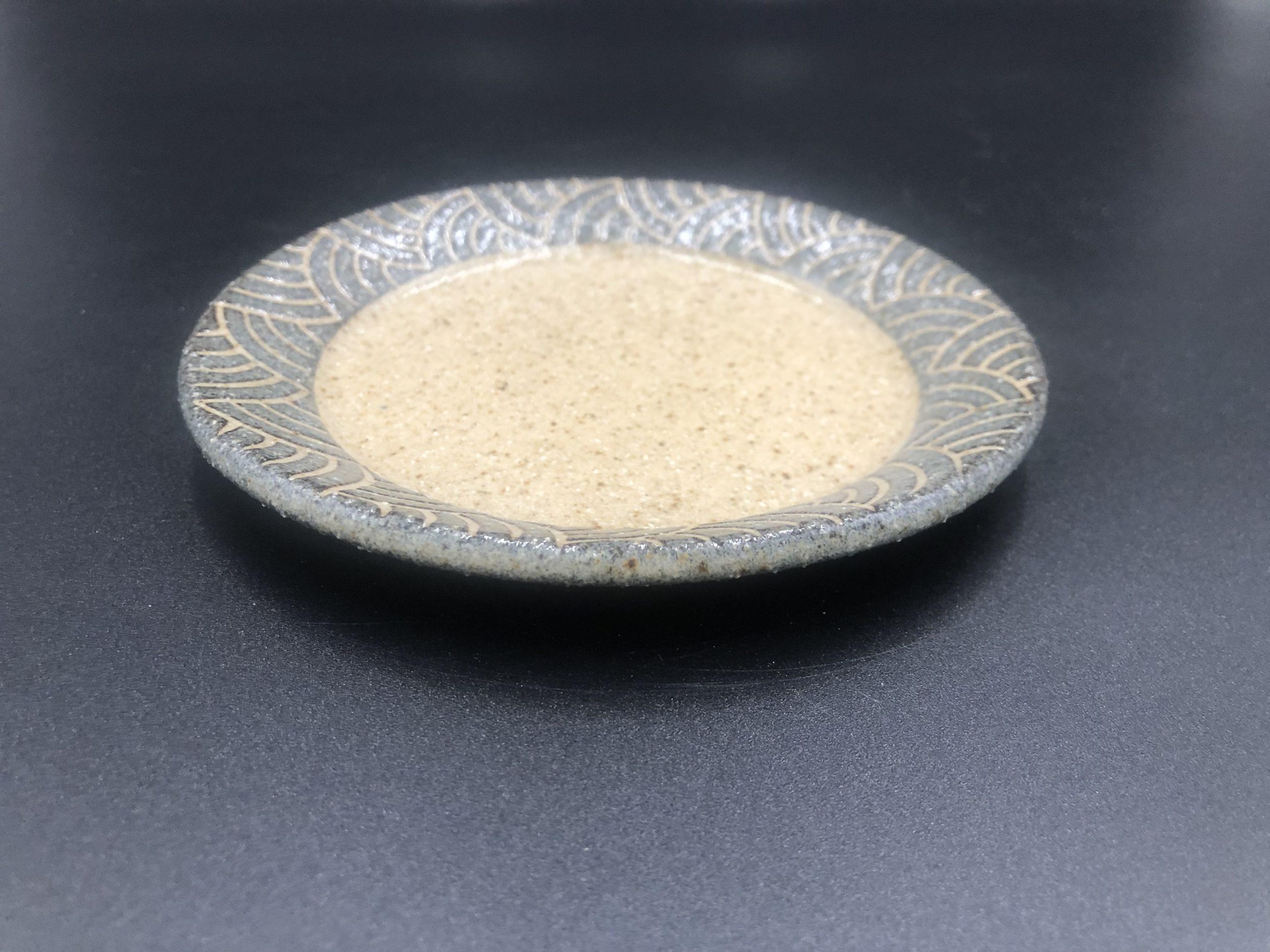 てまり窯  コーヒーソーサー兼 直13丸平皿