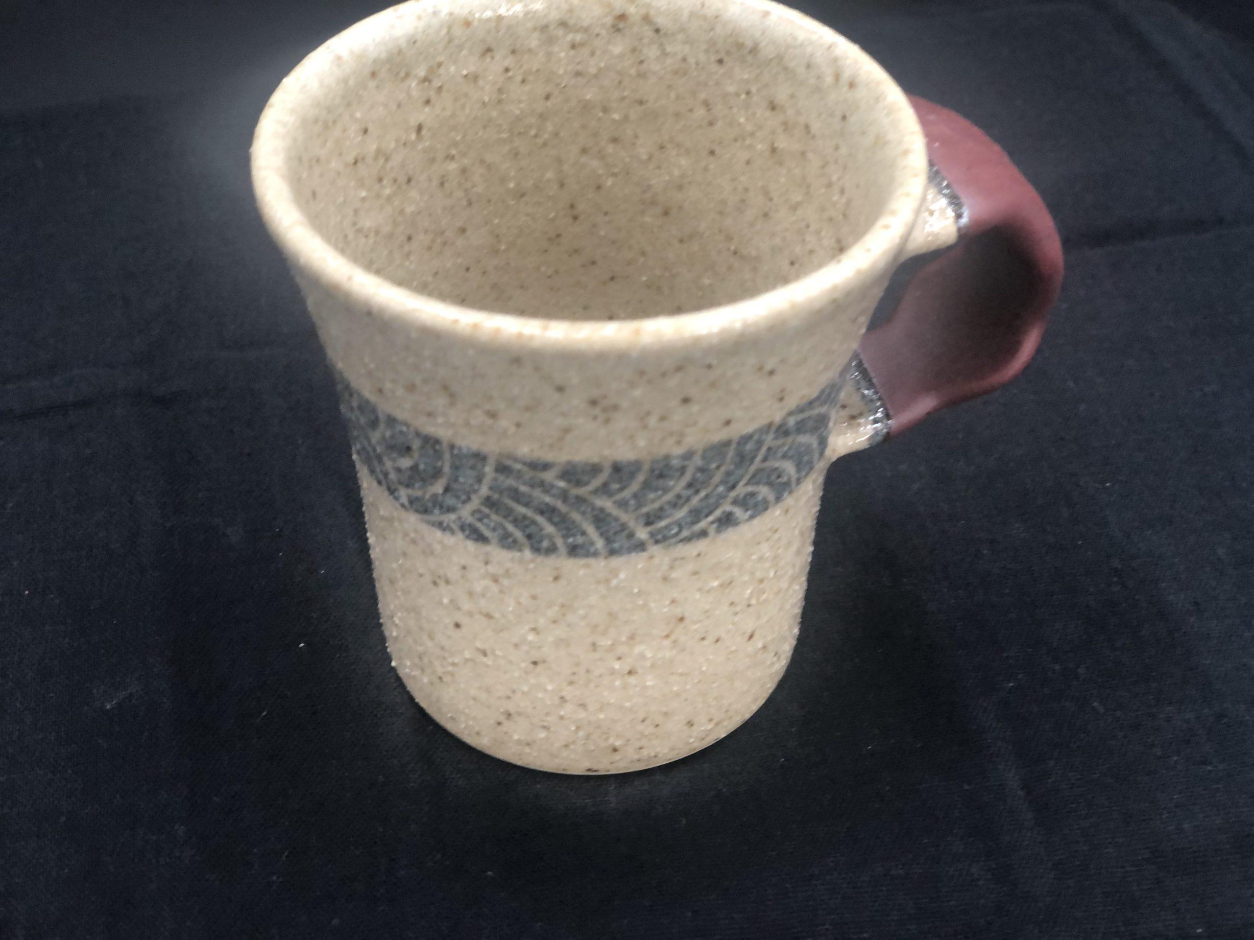 てまり窯 コーヒーカップ・赤