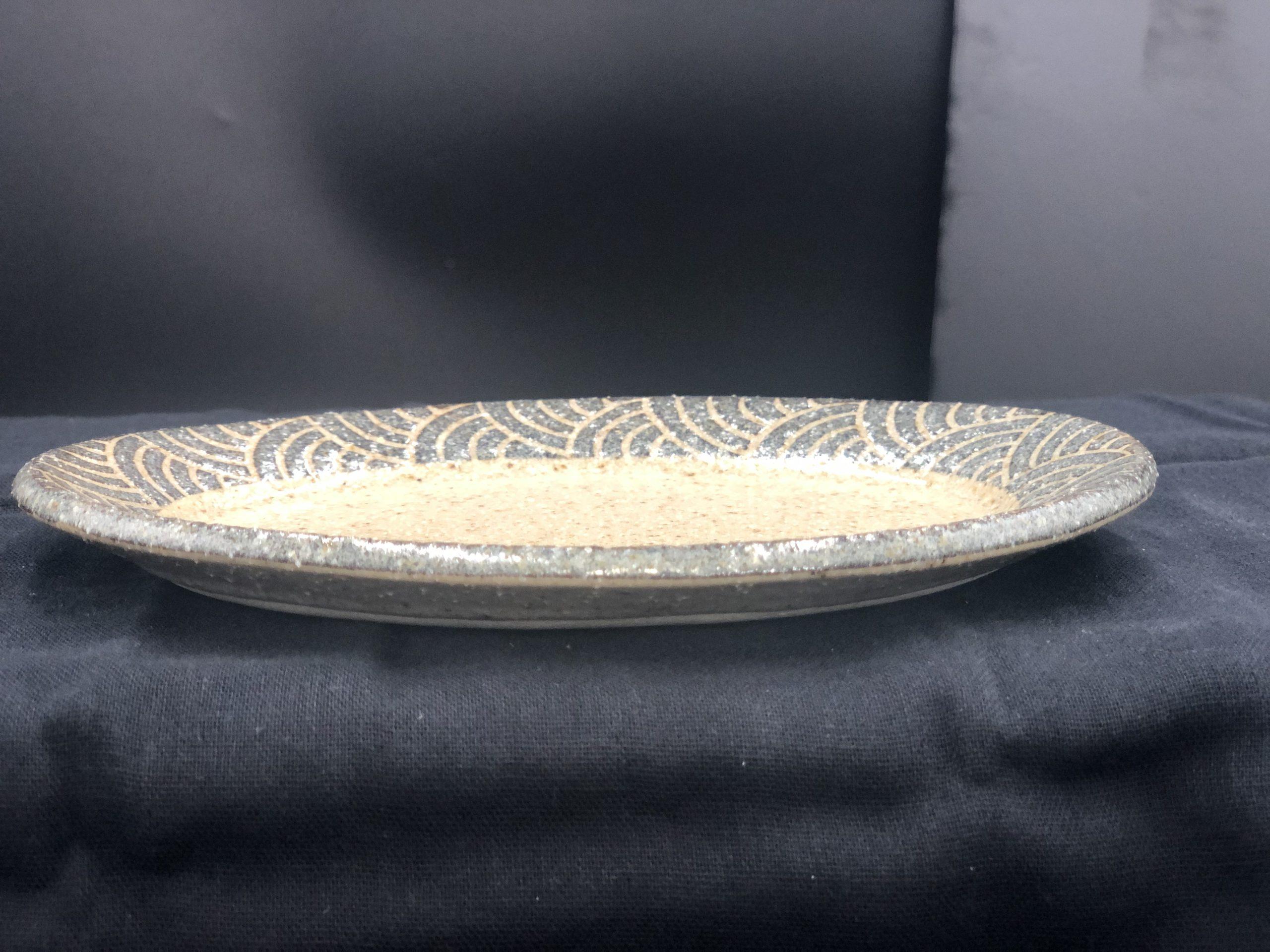 てまり窯 L17楕円平皿