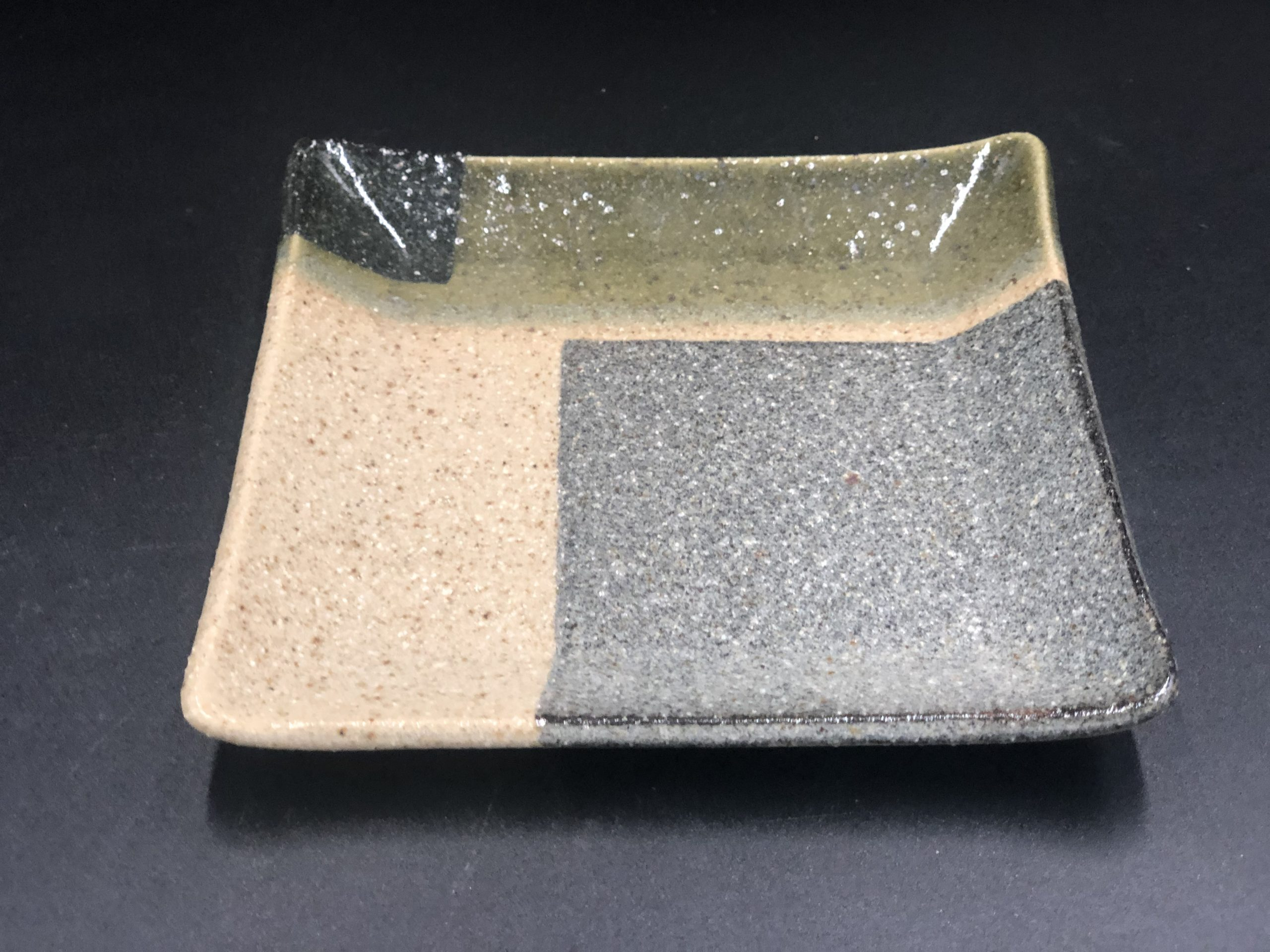 てまり窯 L14四方皿