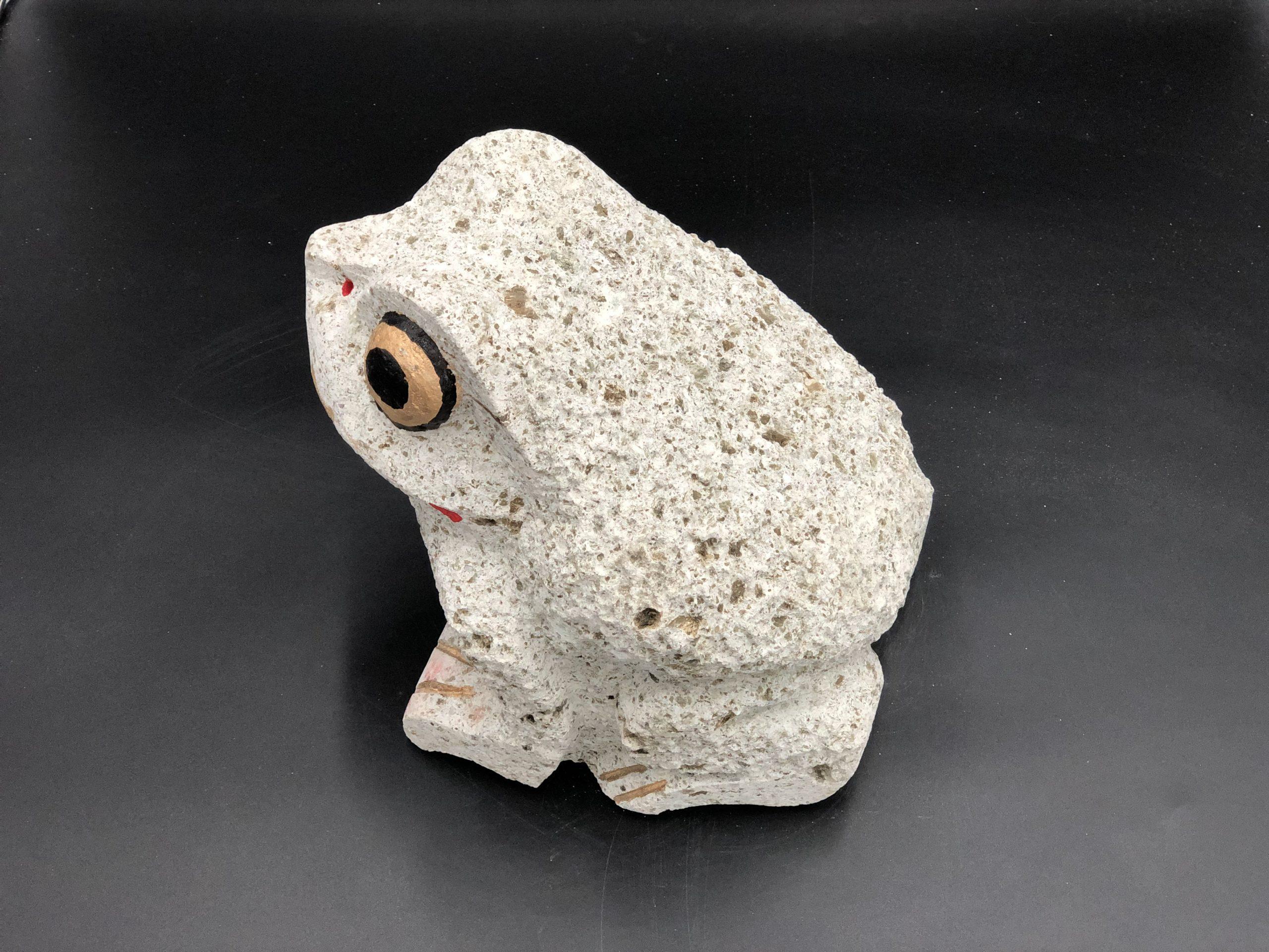大谷石6寸カエル